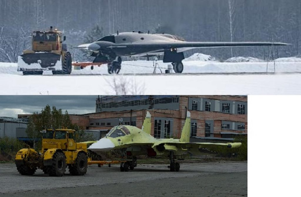 Mikoyan LMFS - Page 18 Drone-de-combate-russo-e-o-Su-34-1024x672