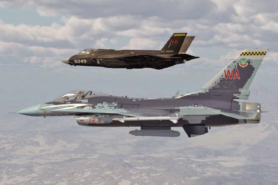 [Imagen: F-16-Aggressor-da-USAF-vai-imitar-camufl...u-57-2.jpg]
